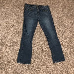 CARBON Slim Straight 32/30 Blue Jeans
